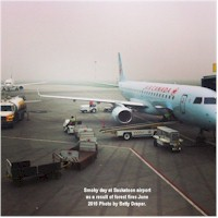tmb saskatoon airport smoky day