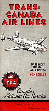 1939 timetable