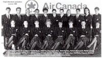 tmb flight attendants graduation 1989