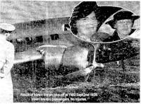 tmb tire blown on aircraft