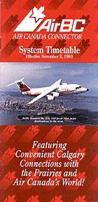 airbc timetable 1991