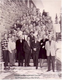 tmb advanced management course Banff