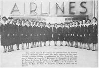 tmb stewardess grads 1951