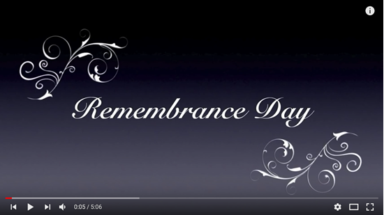 2017 Remembrance Day
