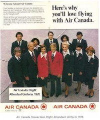 tmb air canada in flight 1978