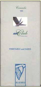 air club internationa timetable