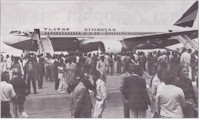 tmb ethiopian record flight
