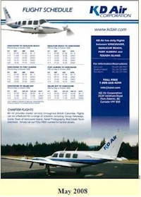 tmb kd air timetable 1405