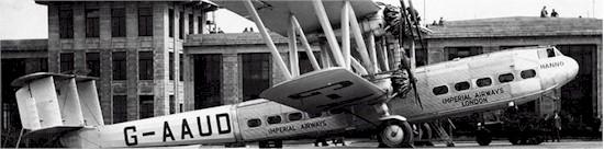 tmb 550 croydon imperial airways