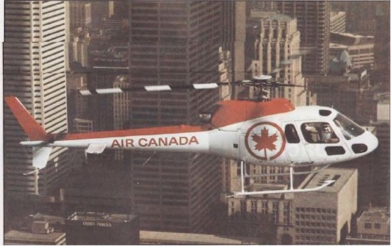 tmb 550 helicopter shuttle