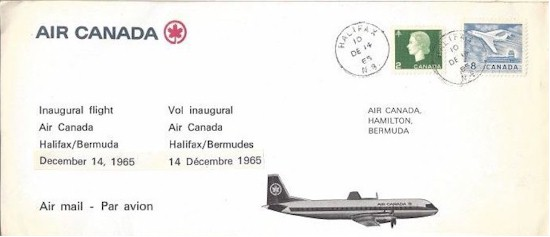 tmb 550 first day covers yhz bermuda