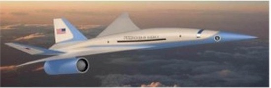tmb 550 president airforce one