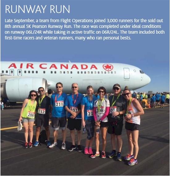 tmb 550 yyz 2015 runway run