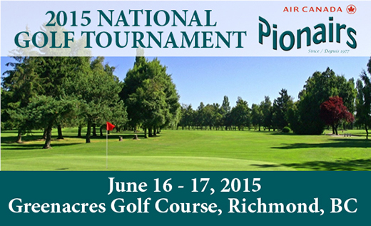 Pionairs National Golf 2015