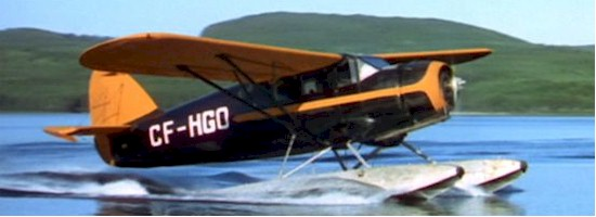 Norseman CF-AYO (Renamed CF-HGO for film)