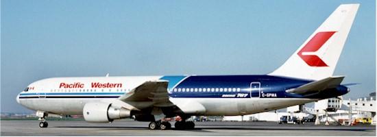 PWA B-767 Registration C-GPWA