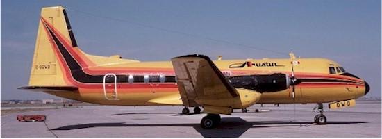 Austin Airways Hawker Siddely