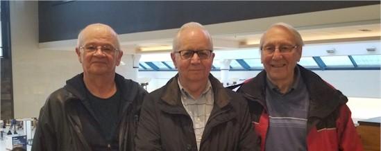 Wayne Albertson, Ken Pickford & Terry Baker